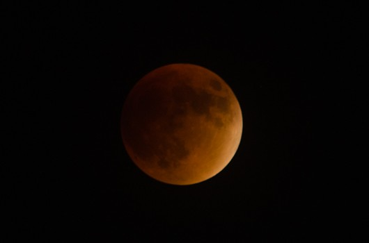 September 27, 2015 Supermoon Lunar Eclipse