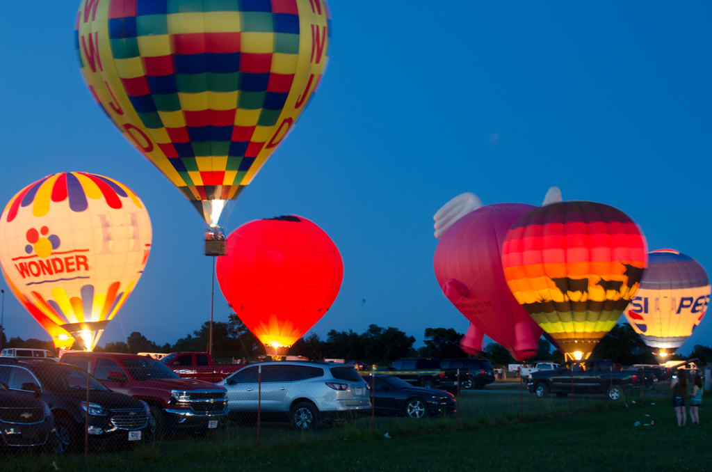 May 30, 2016 Tulsa International Balloon Festival and Carnival